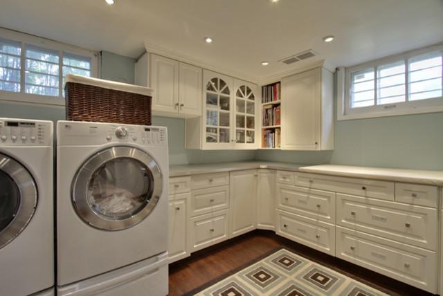 bilton design group traditional laundry room calgary
