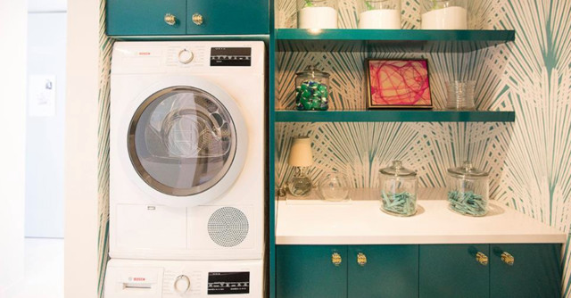 BOSCH Compact Laundry Room - Contemporary - Laundry Room - Houston - by K&N Sales