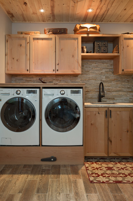 Boulder Co Homes Contemporary Laundry Room Denver