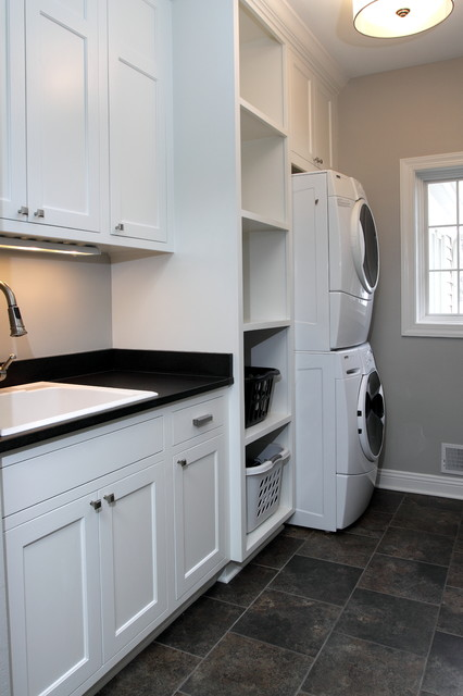 Bradford Renovation - Traditional - Laundry Room ...