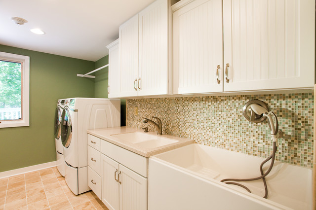 Brentwood Lane Laundry Room - Contemporary - Laundry Room ...