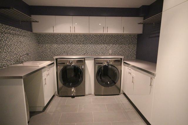 Briar Hill contemporary-laundry-room