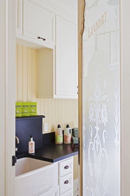 traditional laundry room by Brownhouse Design, Los Altos, CA