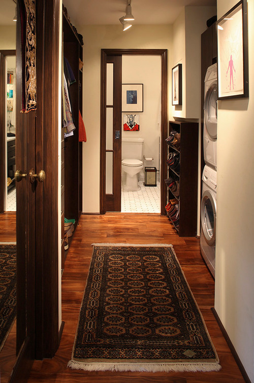 eclectic laundry room uncategorized