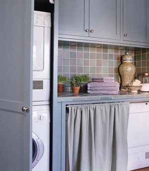 cabinet wall laundry-room