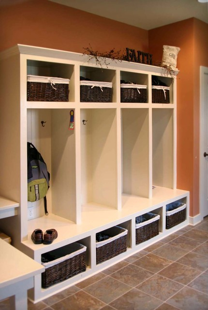 Cabinetry And Built Instraditional Laundry Room
