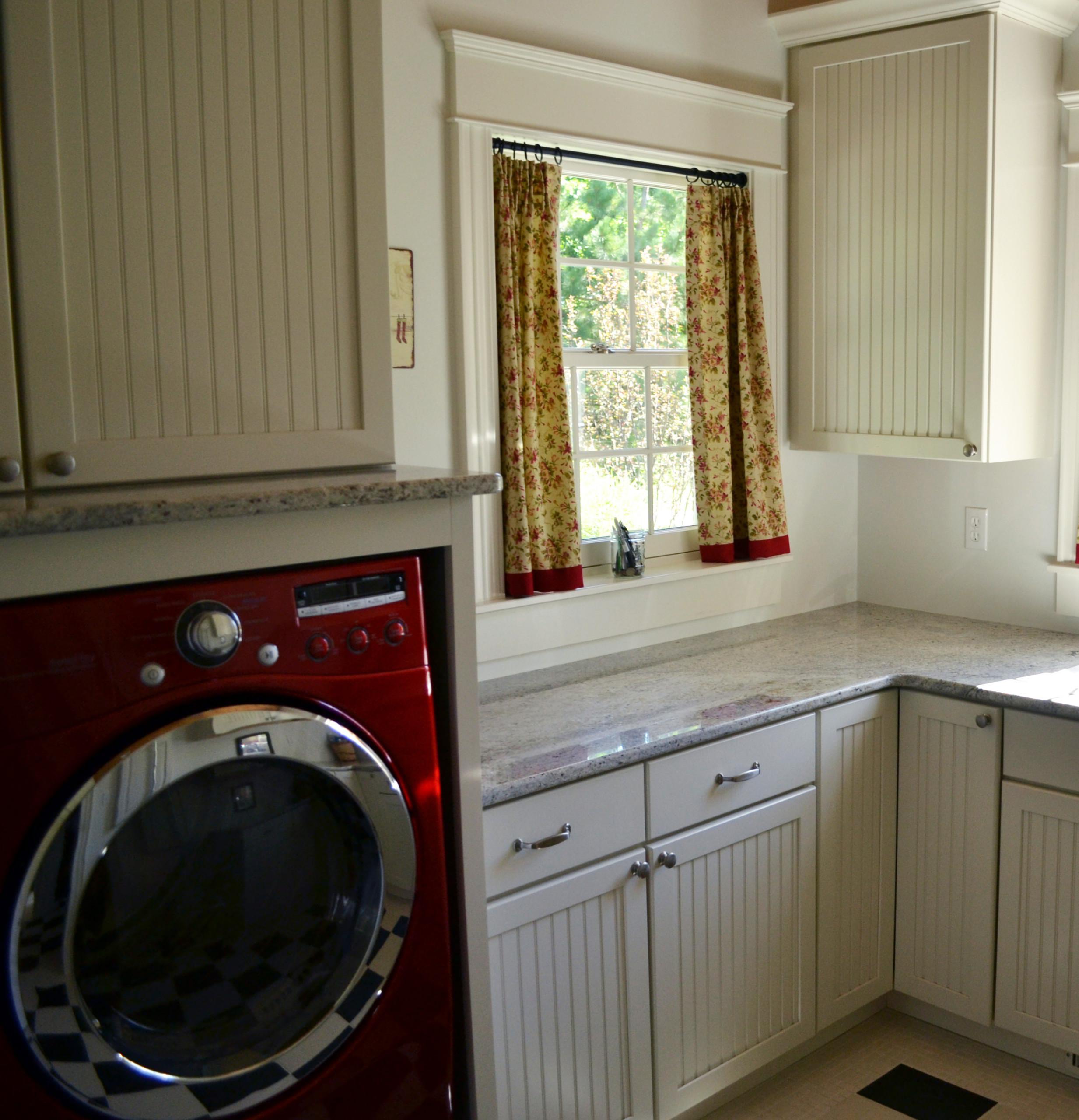 Laundry Room Curtain   Houzz