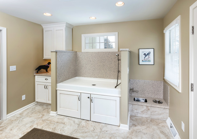 Caledonia Mud Room Addition For Dogs Transitional
