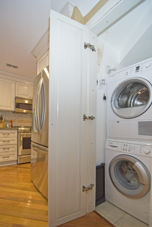 KITCHEN WASHER AND DRYER LAUNDRY DESIGN REMODEL KITCHEN DESIGN PHOTOS