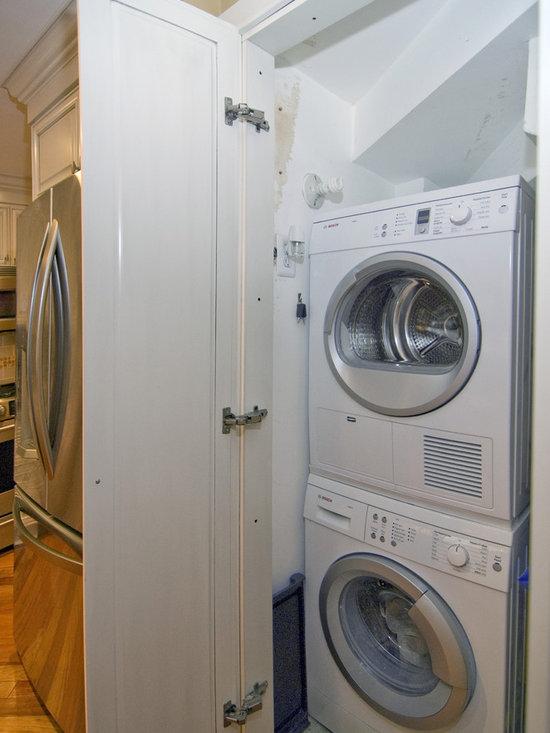 Folding Doors For Laundry Room : Alternative to bifold door pocket laundry room design