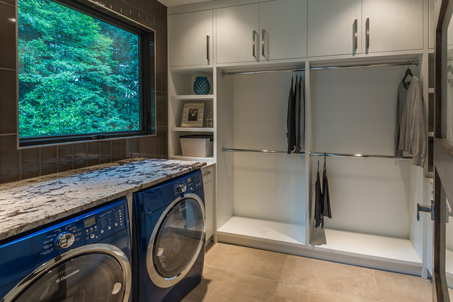 Cedar Ridge Modern Laundry Room Vancouver By The