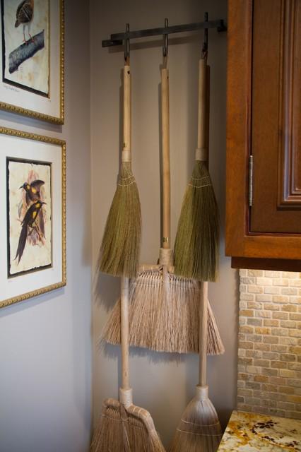 Charmean Neithart Interiors, LLC. traditional-laundry-room