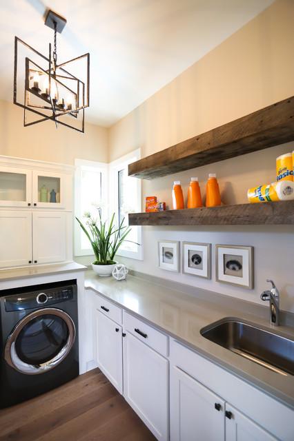 Chatham Hills Blvd farmhouse-laundry-room