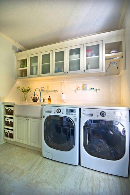 Chris. Laundry/Lockers - Contemporary - Laundry Room - other metro ...