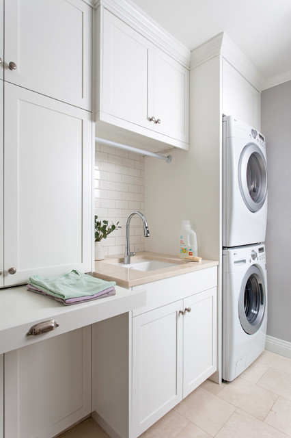Clean & Classic traditional-laundry-room