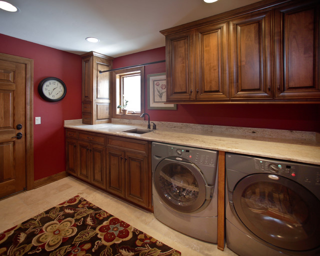 Colgate Whole House Remodel traditional-laundry-room