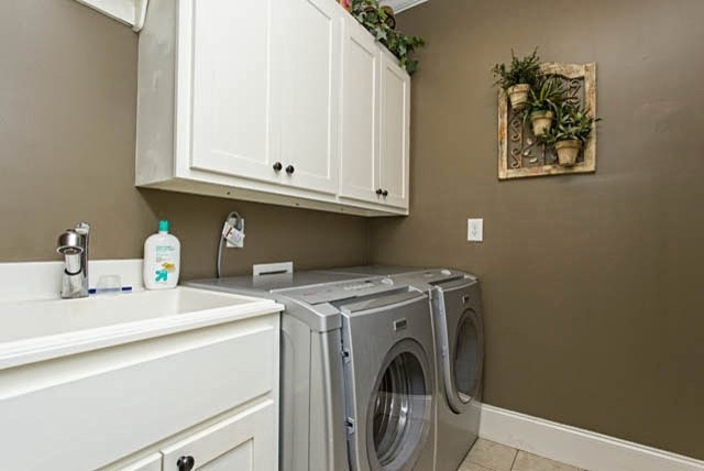 Compact Laundry Space