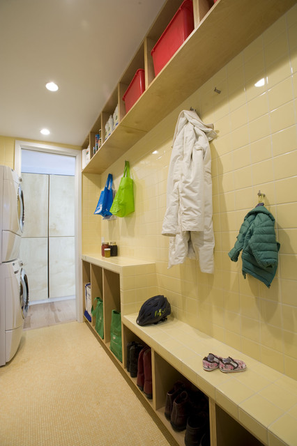 Contemporary by McMillan Builders modern-laundry-room