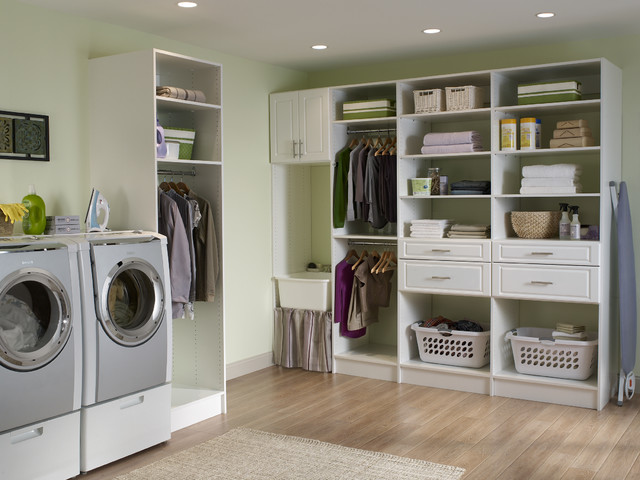 Lovely Laundry Room contemporary laundry room