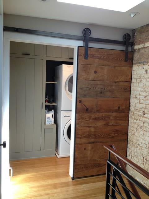 Cork St. Winchester VA modern-laundry-room
