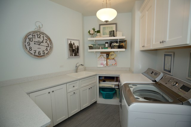 Laundry Room Traditional Laundry Room Chicago By Meyer Design