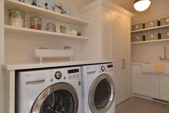 Craftsman Beach House Gibsons BC - Beach Style - Laundry Room - other metro - by Sunshine Coast ...