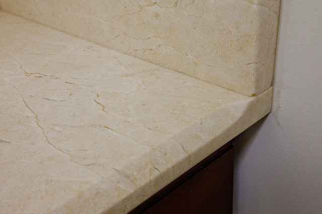 Crema Marfil Marble Laundry Room Workspace laundry-room
