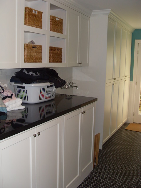 Crisp and Classic traditional-laundry-room