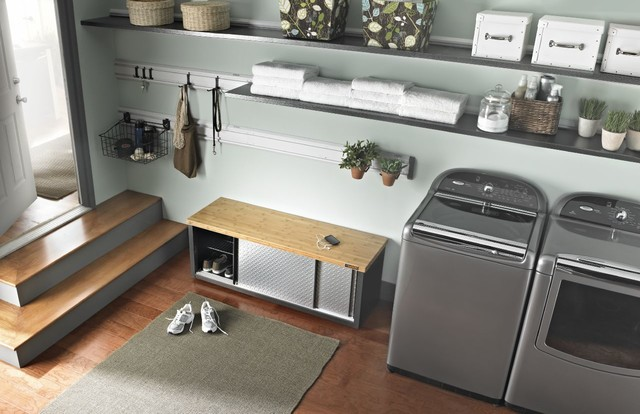 Crisp & Clean - Traditional - Laundry Room - Other - by Gladiator® GarageWorks
