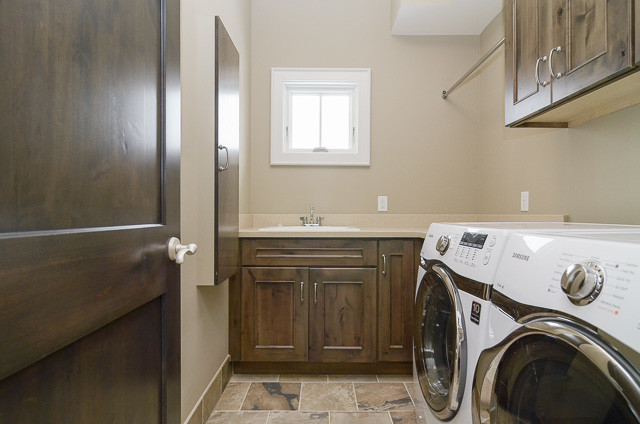 Crocus' New Hill traditional-laundry-room
