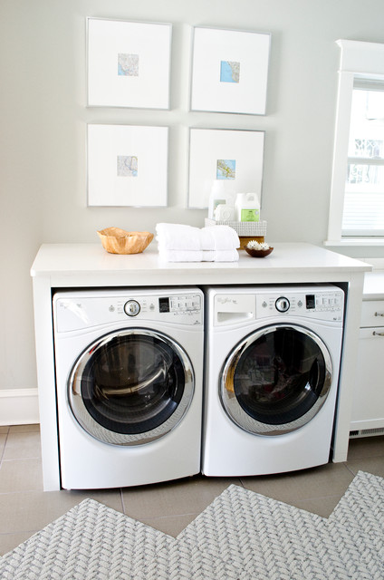 Superb Curbly Remodel, Brought To You By Aristokraft Transitional Laundry Room