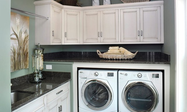 Custom Amish Cabinetry traditional-laundry-room