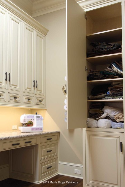 Custom Furniture Pieces for Louisiana Home traditional-laundry-room