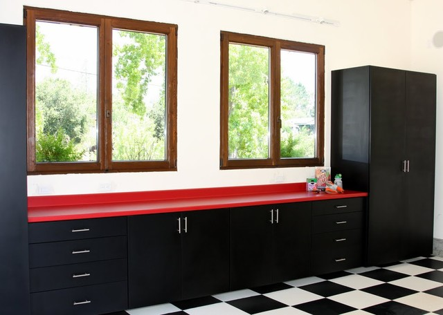 Custom Garage Cabinetry by Valet Custom Cabinets & Closets, Campbell ...