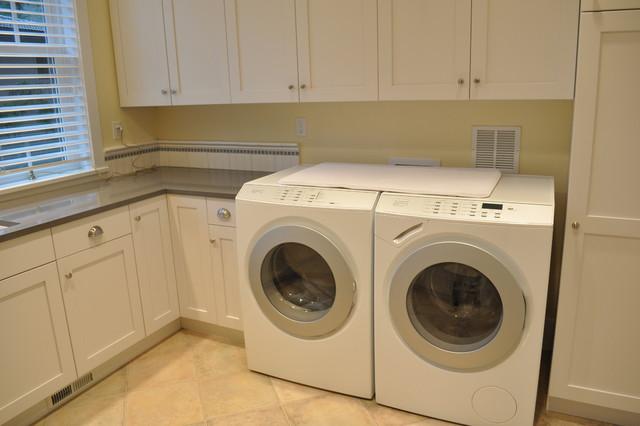 Custom Home Design - Kirkland traditional-laundry-room