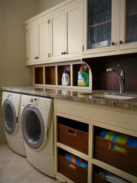 Custom Laundry Room Traditional Dc