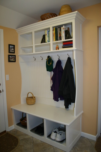 Custom Mudroom Furniture Traditional Laundry Room Detroit By