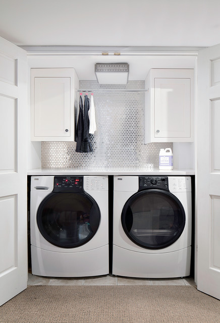 Custom Work - Transitional - Laundry Room - New York - by Clean Design