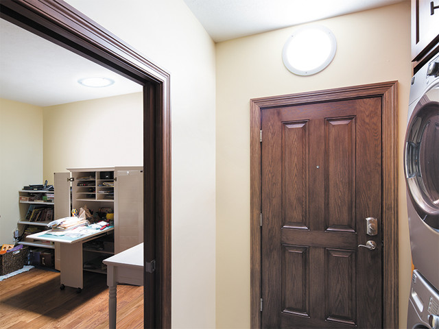 Daylighting Small Spaces traditional-laundry-room