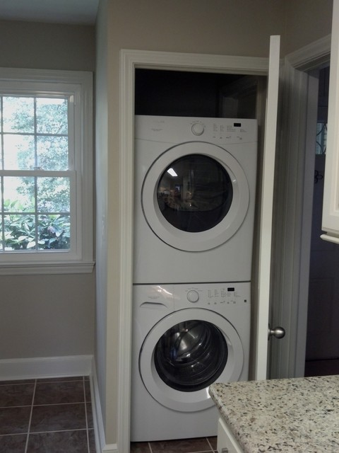 Diamond Caldwell Maple  with Coconut Finish traditional-laundry-room