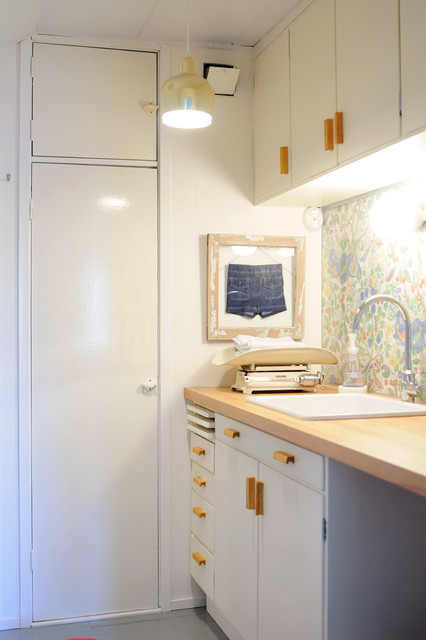 Diaper Changing Room Eclectic Laundry Room Other