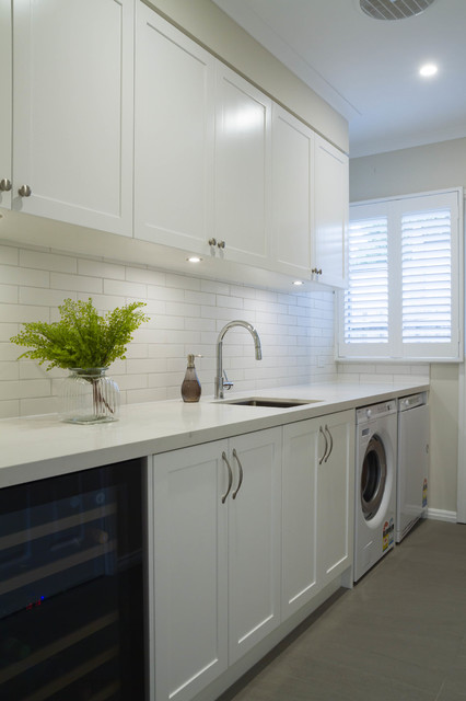 Doncaster East Kitchen Laundry Traditional Laundry Room Melbourne By The Kitchen