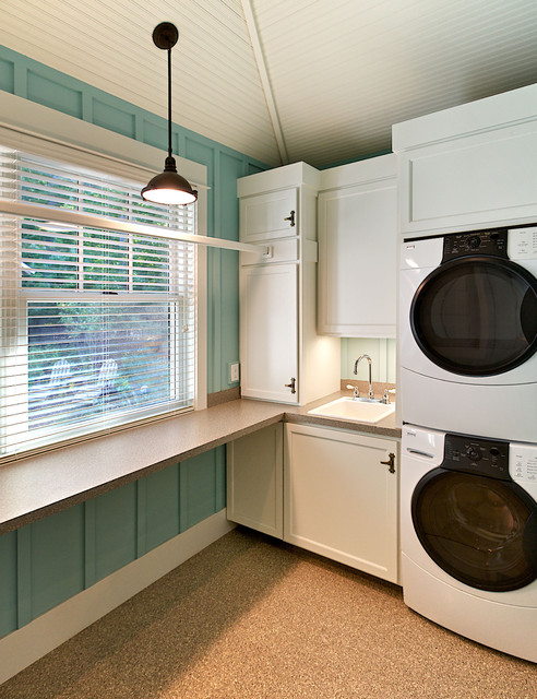 Dune View rustic-laundry-room