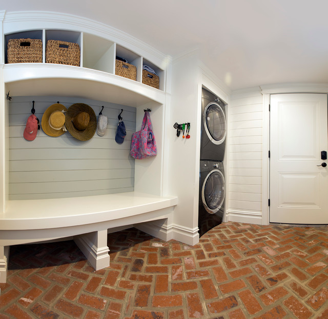 East Atlantic Beach, NY, 11570 - Beach Style - Laundry Room - New York - by Regal Homes Long Island