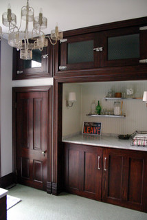 KitchenLab eclectic laundry room