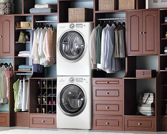 Washer Dryer Closet Home Design Ideas, Pictures, Remodel and Decor