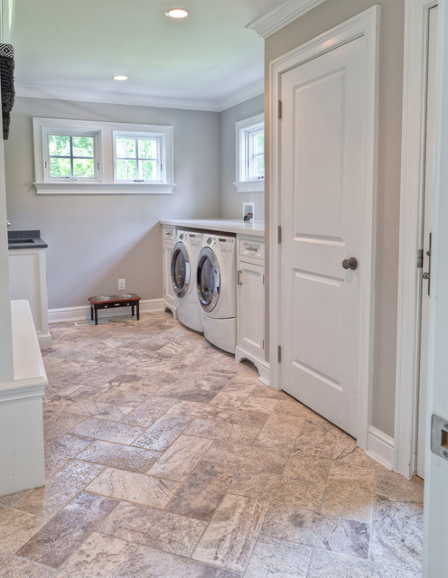 Elegant Laundry Room Traditional Laundry Room New