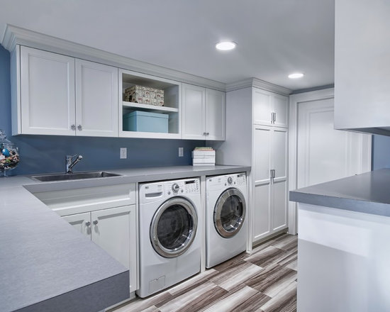 Drop In Laundry Room Sink : ... end dining room table Laundry Room Design Photos with a Drop-In Sink