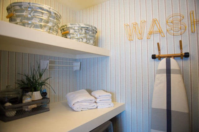 everyday laundry contemporary laundry room by