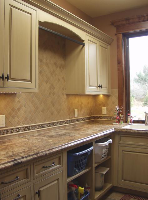 Executive Home Wausau Wi Paint And Glazed Laundry